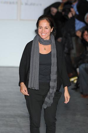Показ Zero + Maria Cornejo коллекции сезона Осень-зима 2009-2010 года Prêt-à-porter - www.elle.ru - Подиум - фото 92428