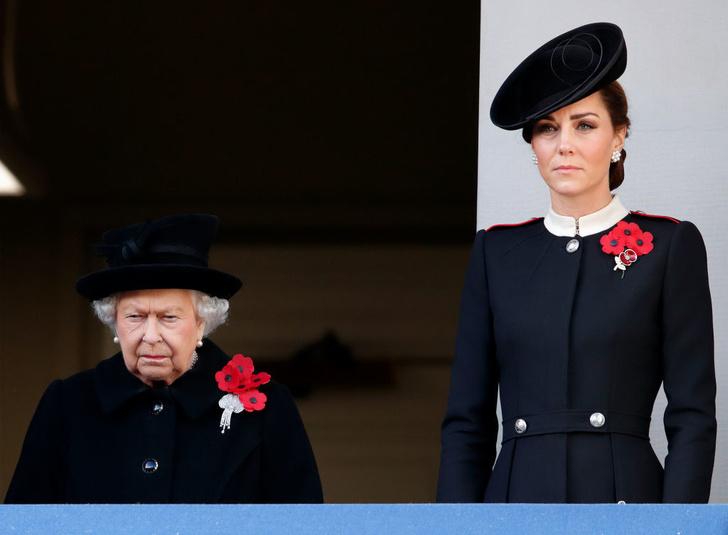 За что королева критикует Кейт Миддлтон? (фото 1)
