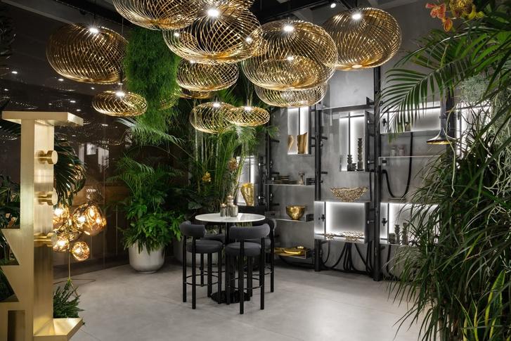 Эклектичный ресторан по проекту Тома Диксона (фото 9)