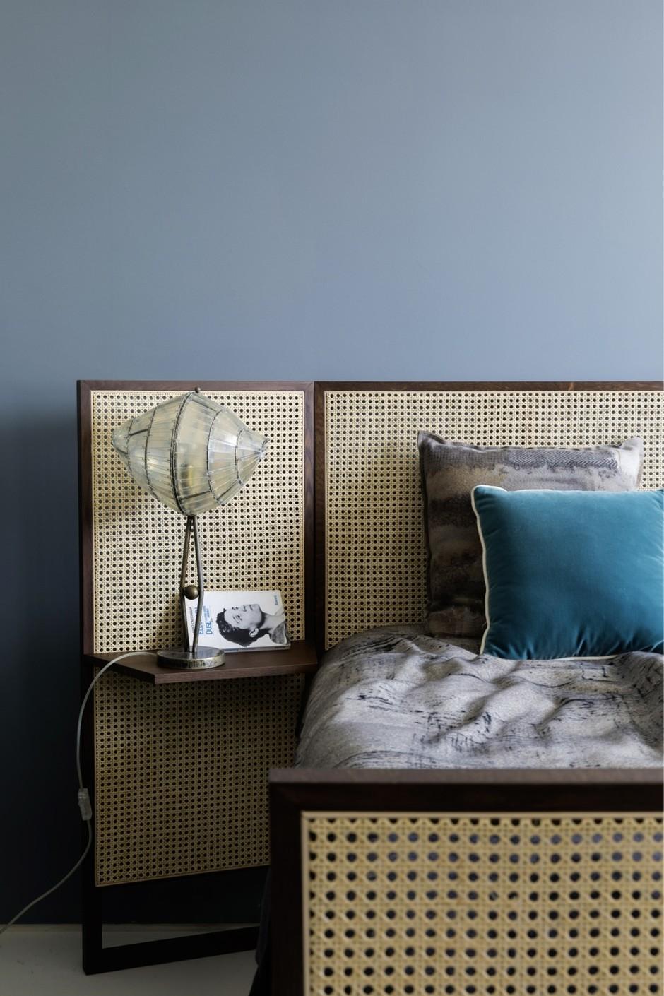 Кровати с необычными изголовьями: 20 примеров (галерея 0, фото 5)
