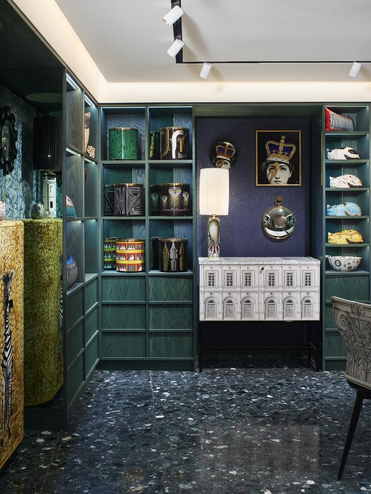 Новый бутик Fornasetti в универмаге Harrods (фото 7)