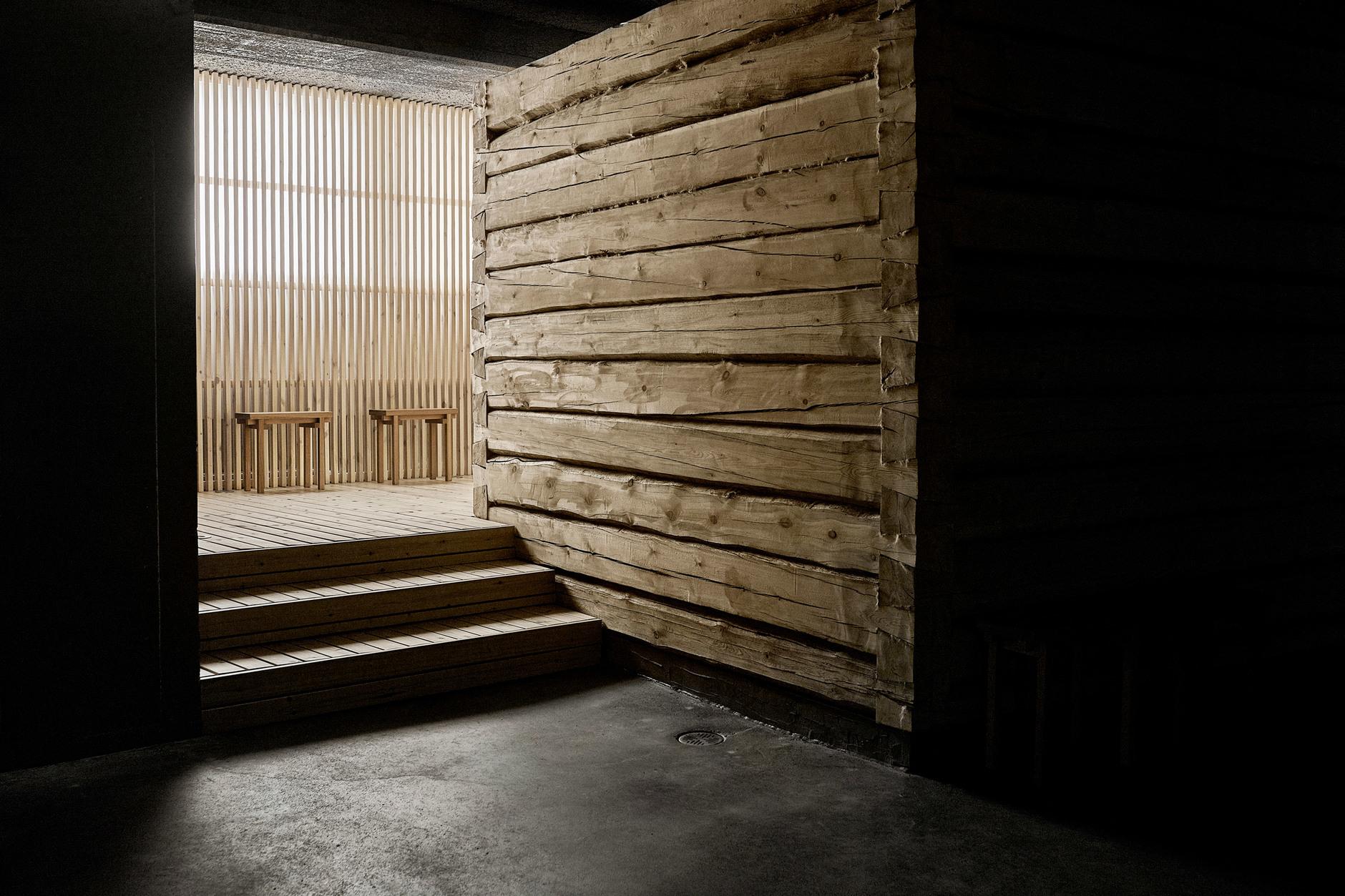 Дуб, бетон и скандинавский дизайн: сауна по проекту Studio Puisto (галерея 4, фото 4)