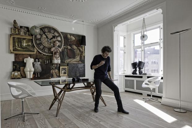Квартира фотографа и кинорежиссера Эрика Заппона (фото 10)