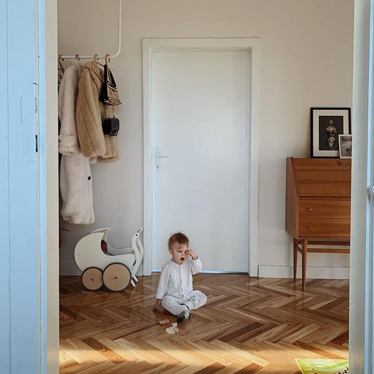 Уютная квартира с винтажной мебелью в Познани (фото 13)