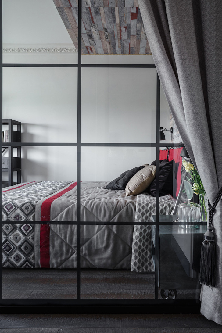 Интерьер трехкомнатной квартиры на Шереметьевской фото [10]