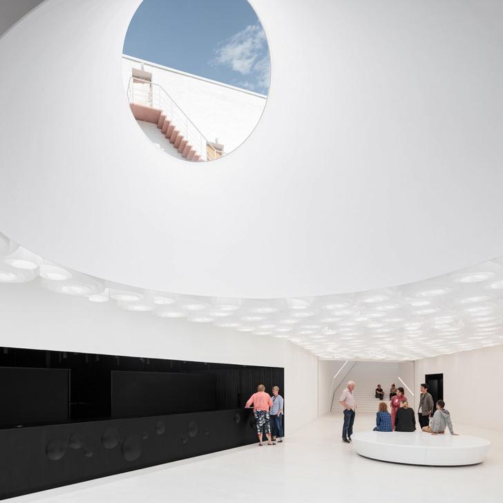 Подземный музей Amos Rex в Хельсинки (фото 6)