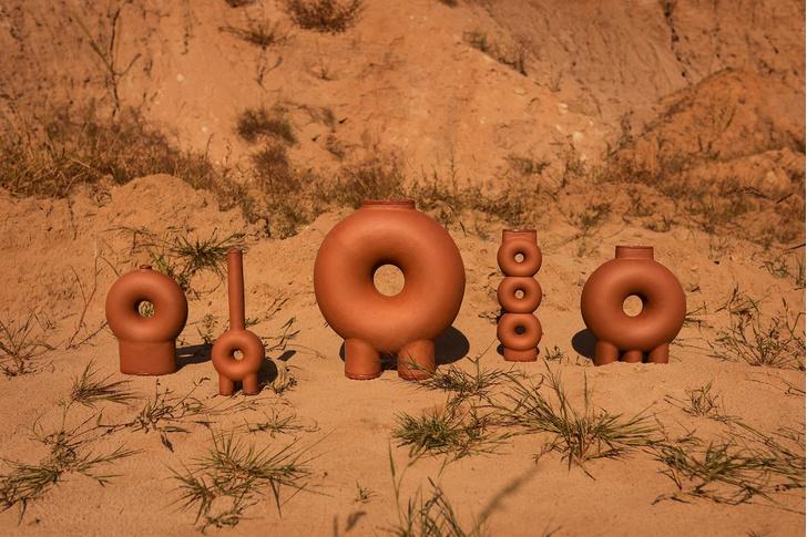 Терракотовые вазы от Виктории Якуши (фото 2)