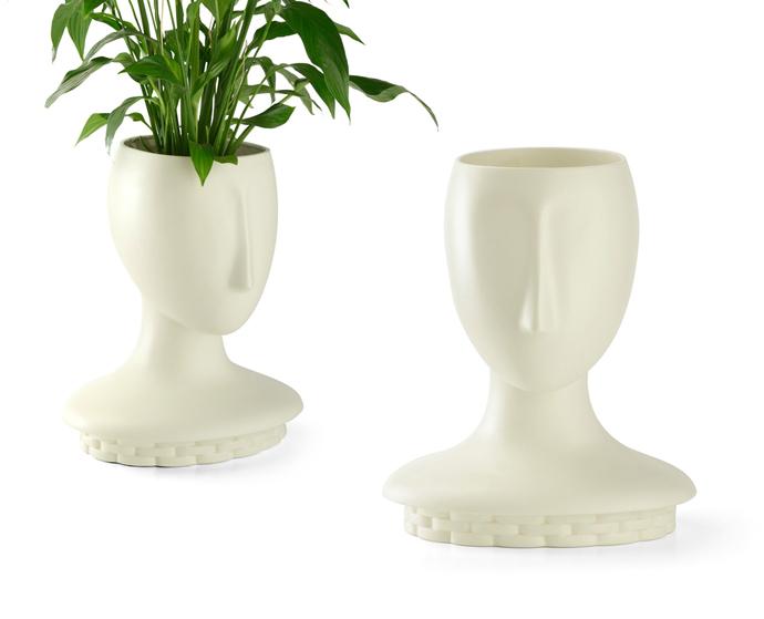 Модульные вазы Kate, Le Porcellane, дизайн Самуэле Мацца