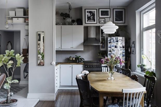 Маленькая кухня-столовая: 12 практичных советов (фото 17)
