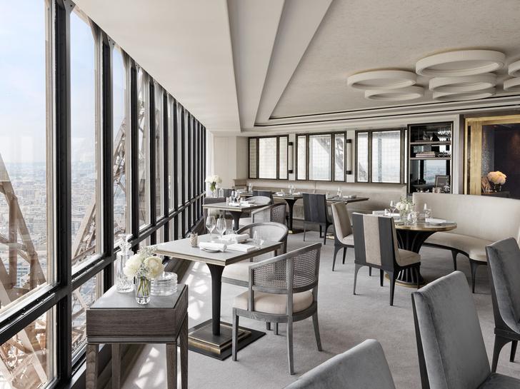 Возвращение легенды: ресторан  Le Jules Vernе на Эйфелевой башне (фото 6)