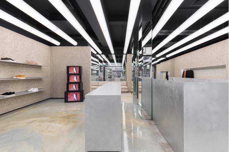 Минималистичный бутик в Лондоне (фото 3)