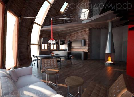 Купольные дома от российской компании | галерея [1] фото [2]