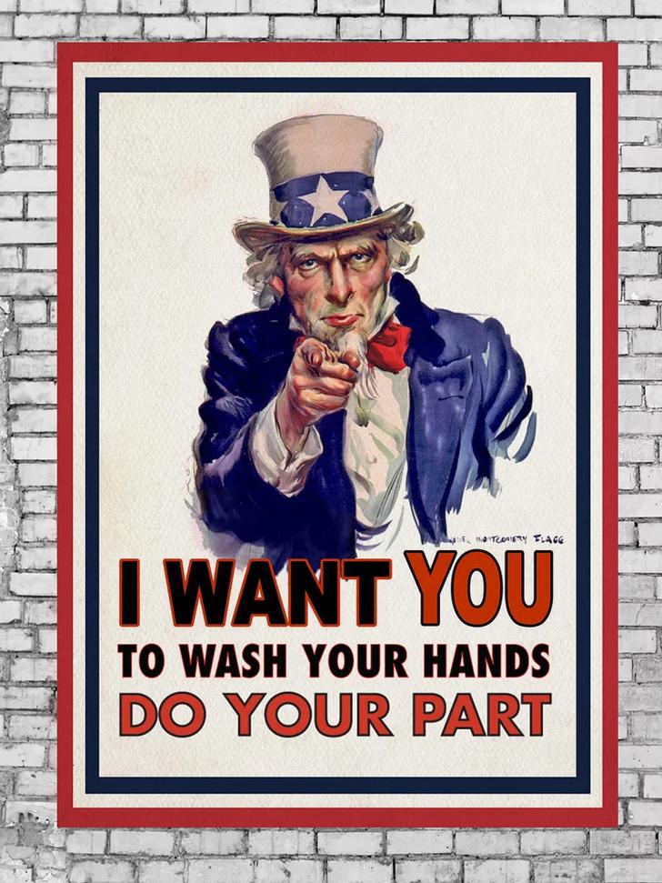 Дизайнеры против коронавируса: серия винтажных плакатов (фото 2)