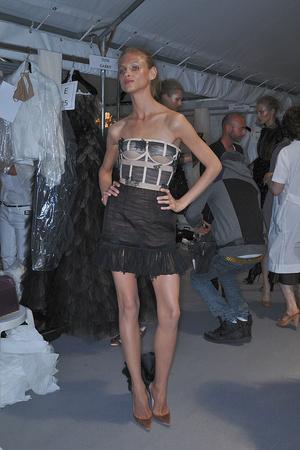 Показ Valentino коллекции сезона Осень-зима 2009-2010 года haute couture - www.elle.ru - Подиум - фото 88476