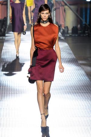 Показы мод Lanvin Весна-лето 2013 | Подиум на ELLE - Подиум - фото 1038