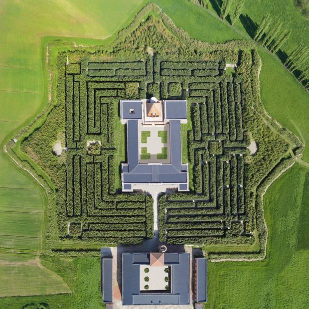 Самый большой в мире зеленый лабиринт: фото (фото 4)