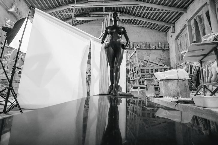 студия художника в Карраре