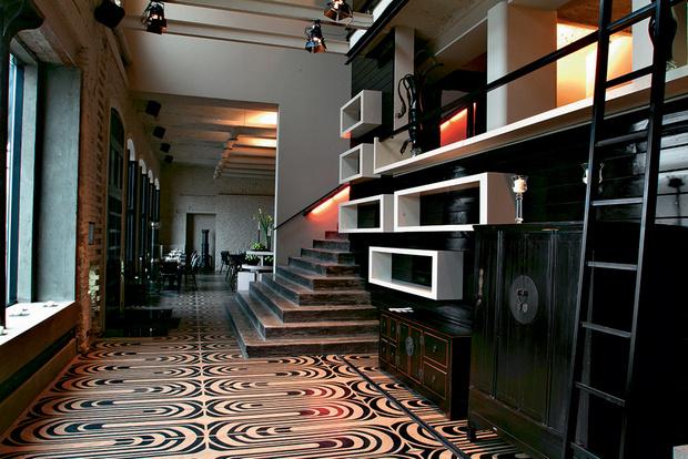 Кафе Maisoncafe, архитектурное бюро Anno Domini, Москва.