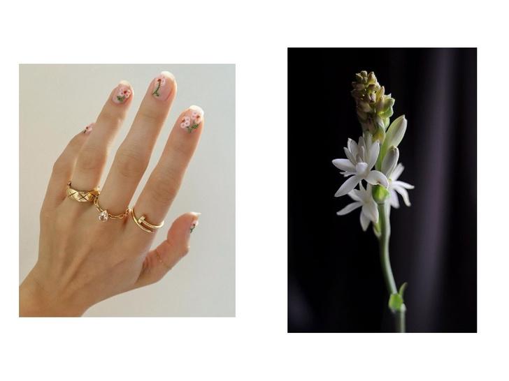 5 идей цветочного маникюра на весну (фото 2)