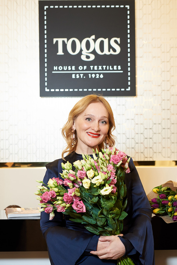 Выставка Елены Сотниковой в бутике Togas (фото 4)