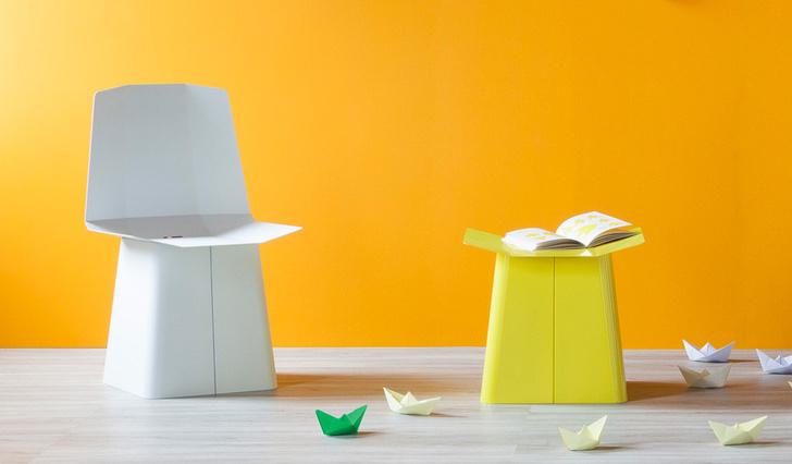 Топ-10: мотивы оригами в предметном дизайне фото [6]