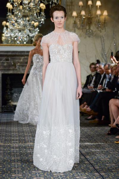 50 самых красивых платьев со Свадебной Недели Моды в Нью-Йорке | галерея [1] фото [6]