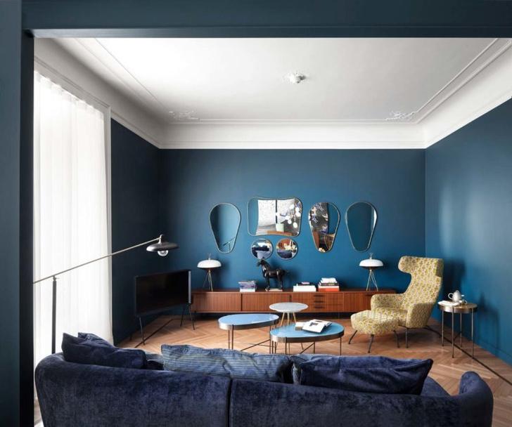 Эклектичная квартира 150 м² в Милане (фото 2)