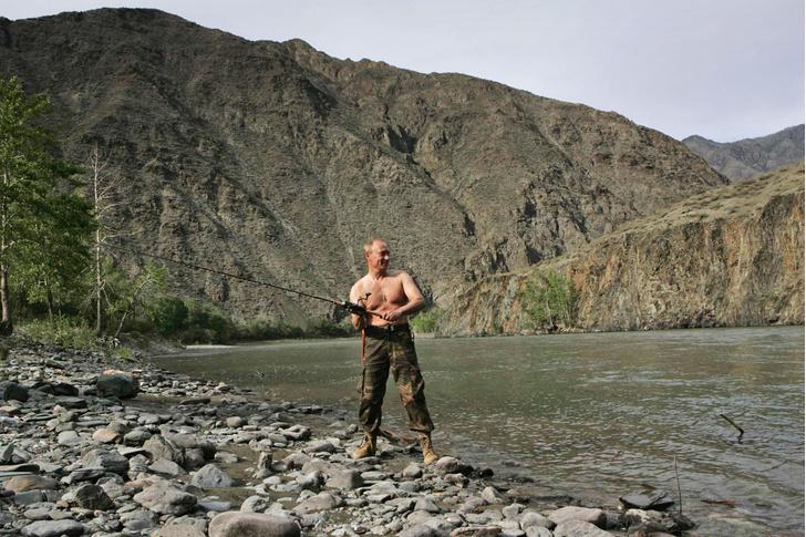 Под водой и в небе: коллекция впечатлений Владимира Путина фото [12]
