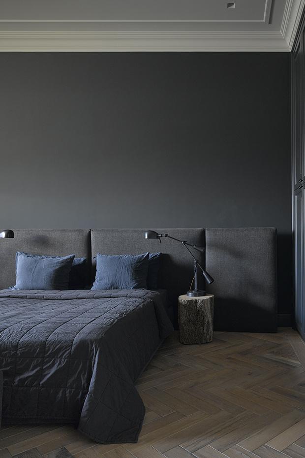 Спальня в московской квартире архитектора Петра Юшина