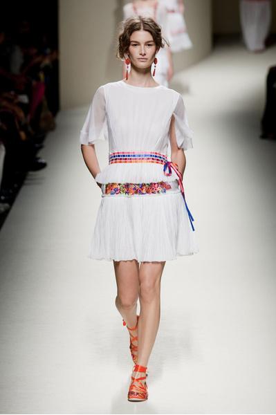 Alberta Ferretti на Неделе моды в Милане