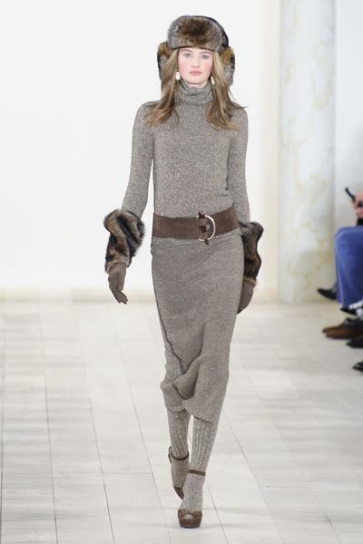 Показ Ralph Lauren на Неделе моды в Нью-Йорке | галерея [1] фото [43]