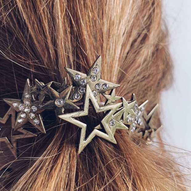 Микротренд: украшения для волос (фото 10)