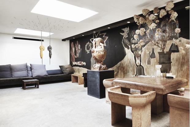 Рик Оуэнс: мебель из мрамора и рога (фото 13)