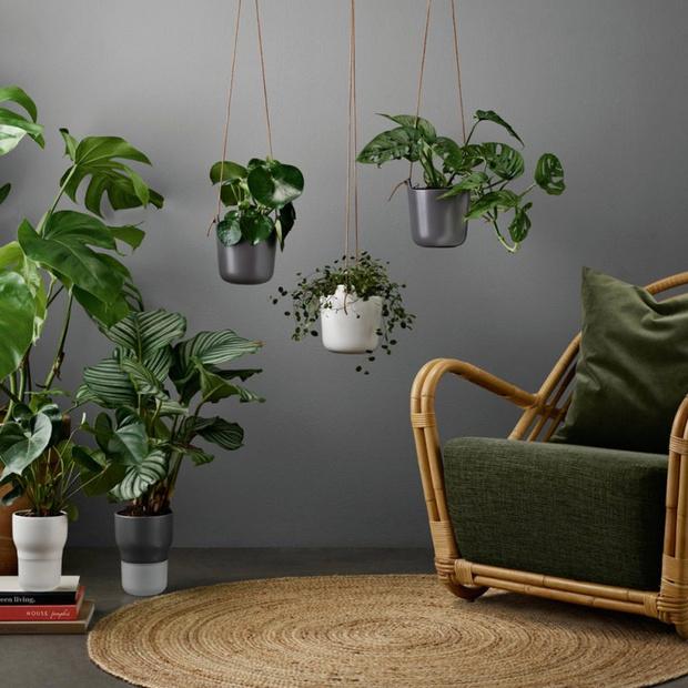 Цветы на балконе: дизайнерские подвесные кашпо (фото 0)