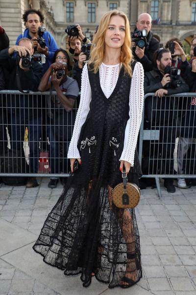 Наталья Водянова и Кейт Бланшетт на показе Louis Vuitton | галерея [1] фото [5]