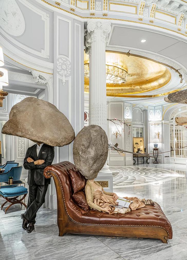 Выставка Сунь Юаня и Пэн Юя в отеле St. Regis в Риме (фото 2)