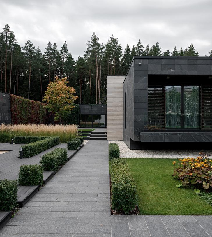 Современный дом  4500 м² с красивым садом на Новой Риге: проект бюро Woodstone (фото 6)