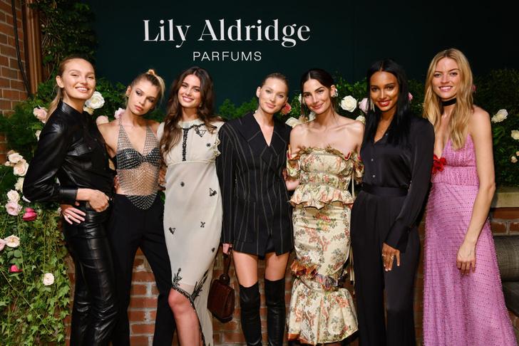 Адриана Лима, Эльза Хоск и все-все-все супермодели на вечеринке Лили Олдридж (фото 6)