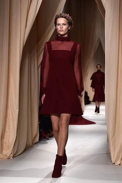 Показ Valentino Haute Couture   галерея [1] фото [13]