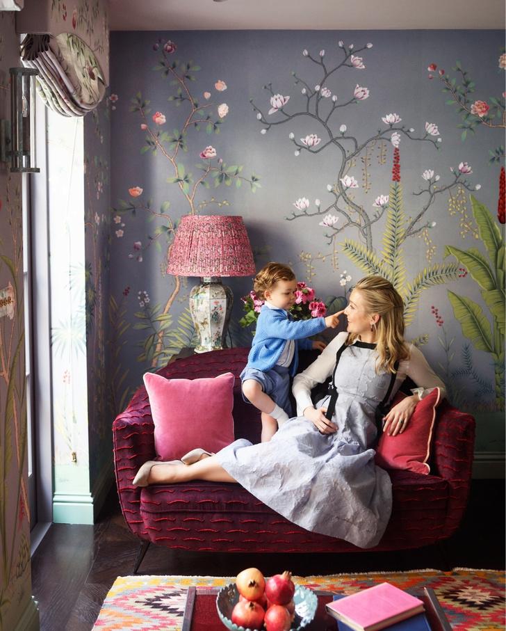 Интерьер с обложки: лондонский дом Ханны Сесил Гурне (фото 0)