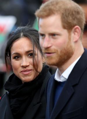 Новый выход принц Гарри и Меган Маркл (фото 4)