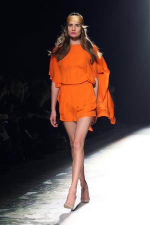 Показы мод Kira Plastinina Весна-лето 2014 | Подиум на ELLE - Подиум - фото 3716