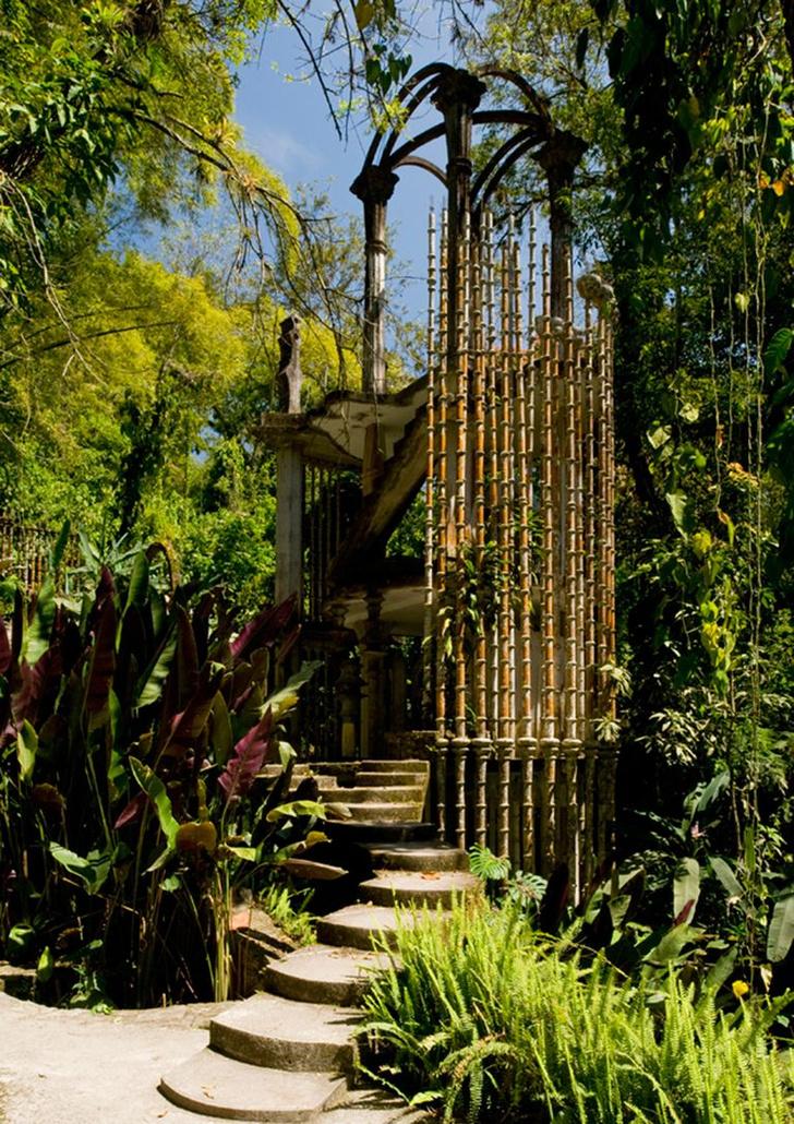 Las Pozas: cюрреалистический парк в мексиканских джунглях (фото 6)
