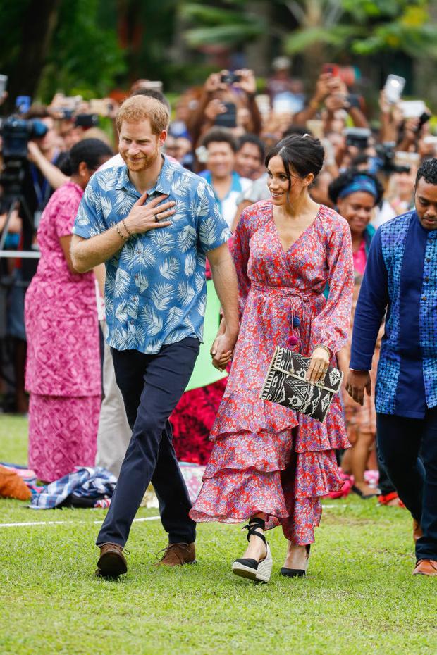 Меган Маркл и принц Гарри: второй день на Фиджи (фото 3)