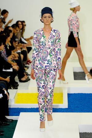 Показы мод Jil Sander Весна-лето 2012 | Подиум на ELLE - Подиум - фото 1878