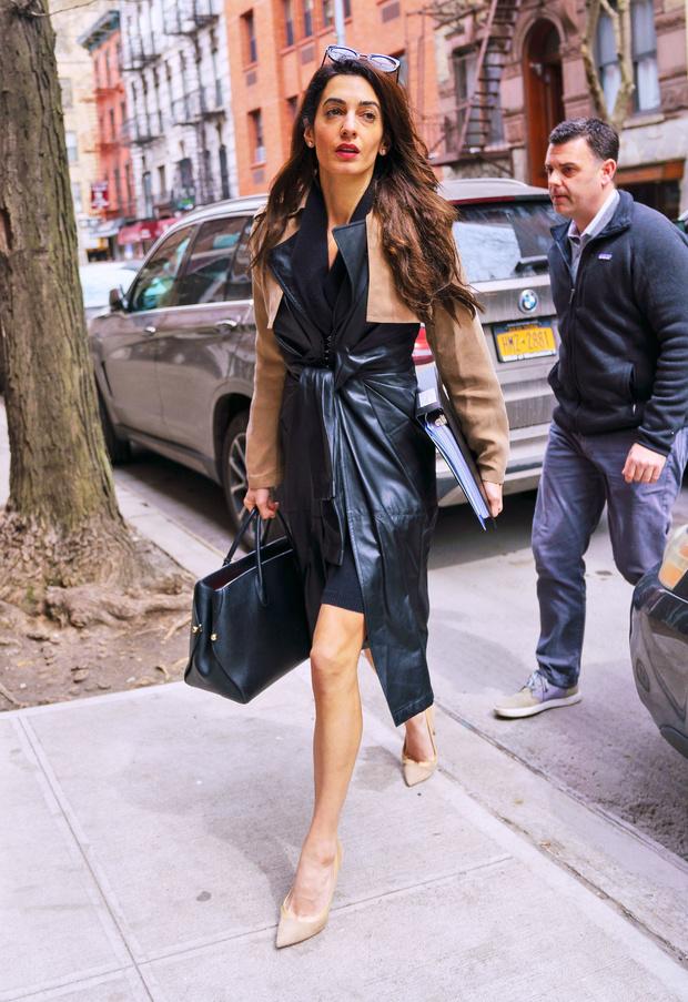 Бизнесвумен: Амаль Клуни в Нью-Йорке (фото 1)