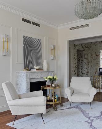 Квартира для семьи с тремя детьми в классическом стиле 140 м² (фото 4.1)