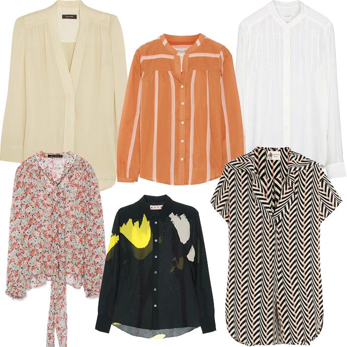 Модные блузки весна лето 2015 фото 4