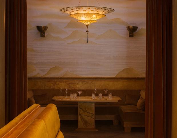 Ресторан Nolinski с элементами ар-деко (фото 3)