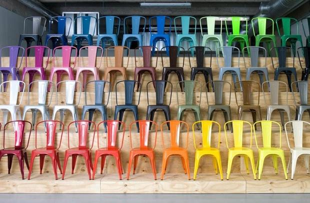 Культовый объект: индустриальный стул Ксавье Пошара (фото 2)